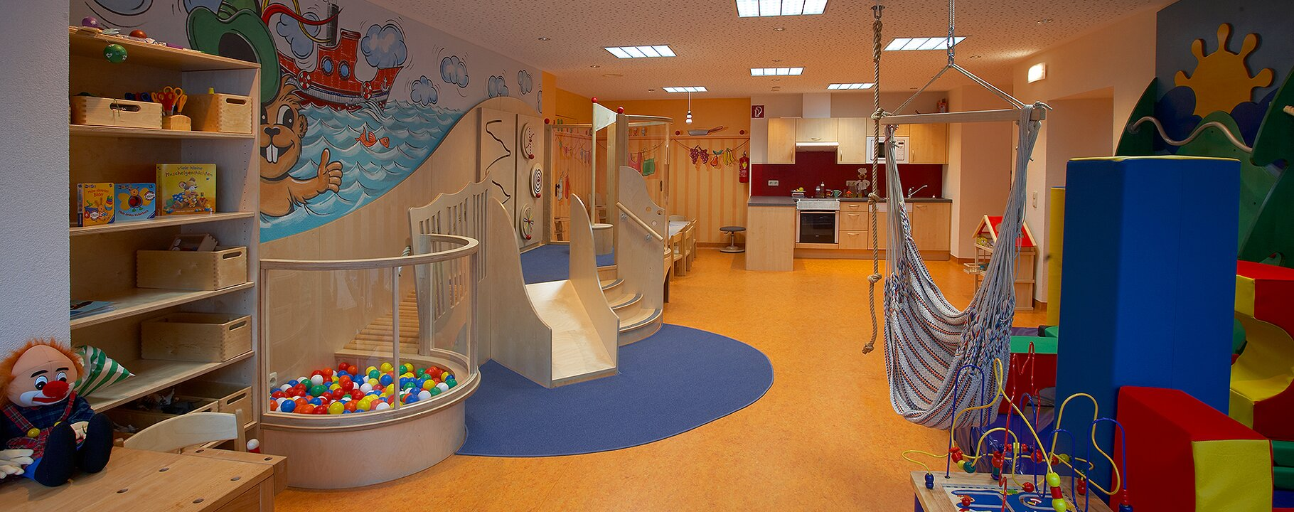 play room at the Murmli Crèche | © Serfaus-Fiss-Ladis/Tirol