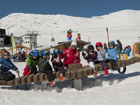 fun at the Kinderschneealm | © Serfaus-Fiss-Ladis/Tirol