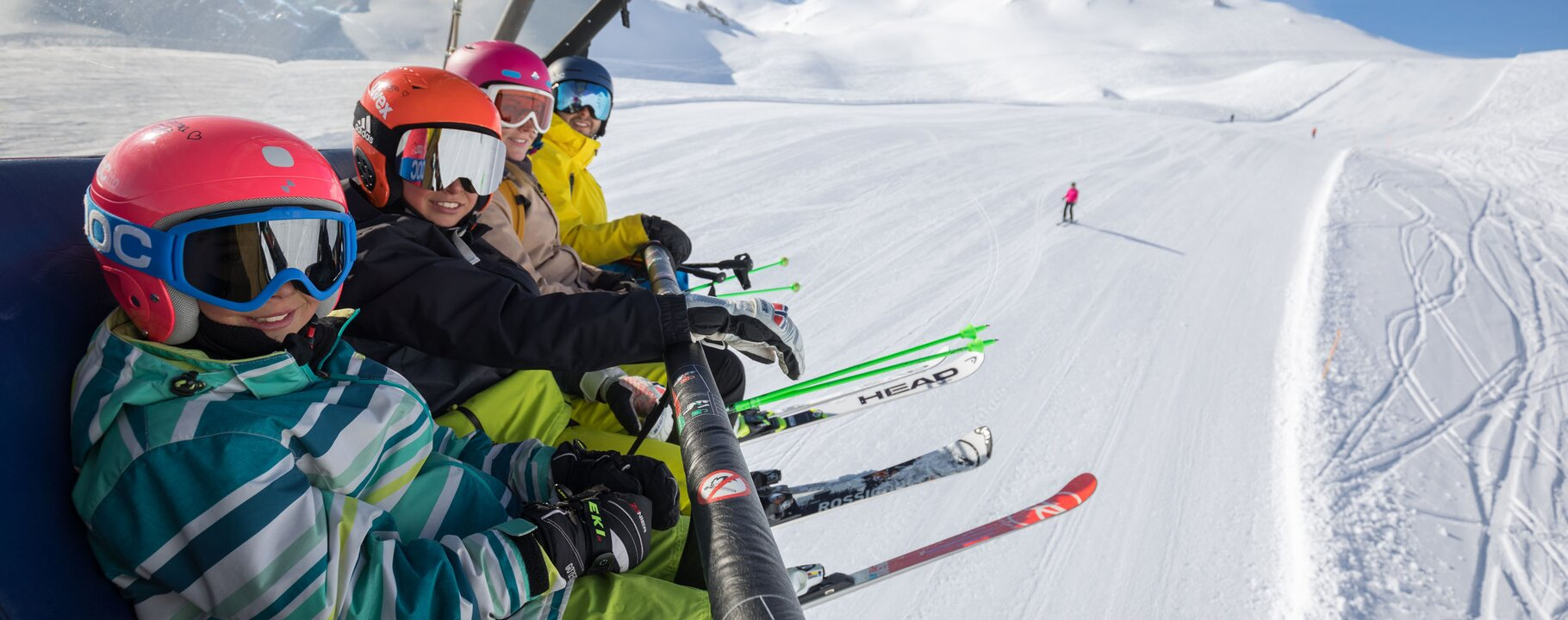 Skiing with the family in Serfaus-Fiss-Ladis in Tyrol Austria | © Andreas Kirschner