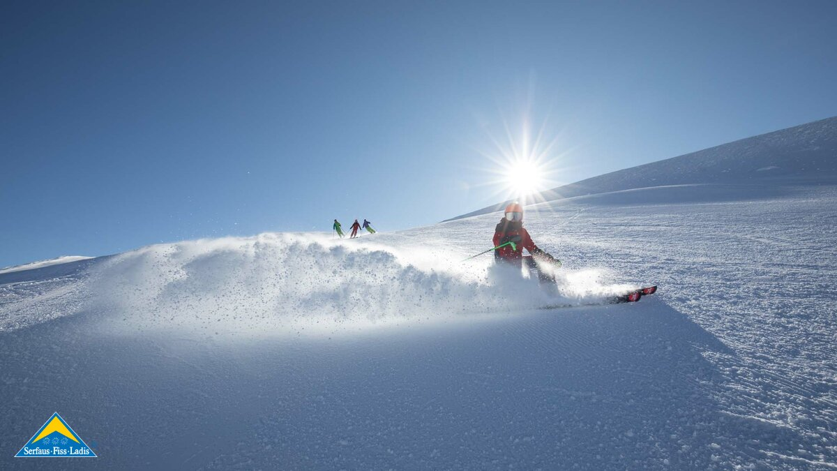 Skiing in Serfaus-Fiss-Ladis in Tyrol  | © Serfaus-Fiss-Ladis Marketing GmbH | Andreas Kirschner