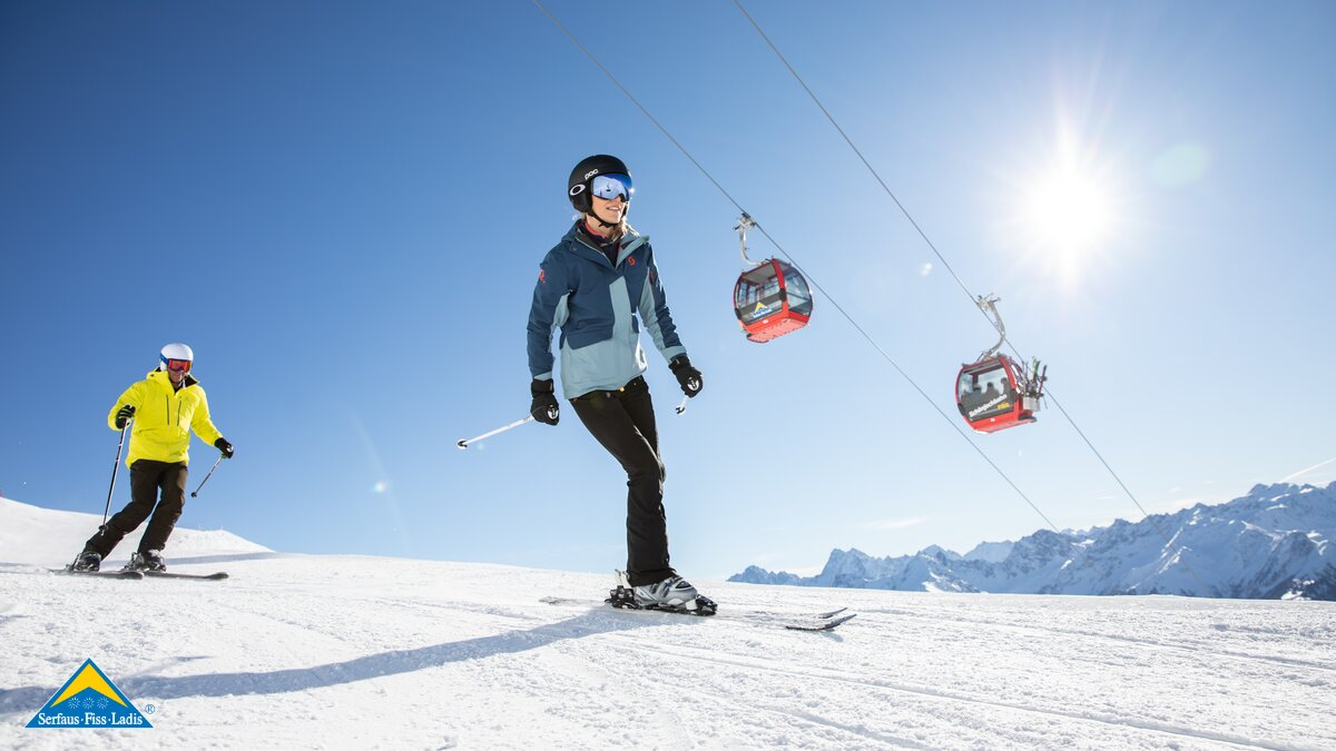 Skiing in Serfaus-Fiss-Ladis in Tyrol
