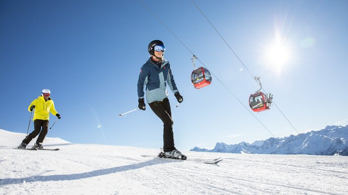 Skiing in Serfaus-Fiss-Ladis in Tyrol  | © Serfaus-Fiss-Ladis Marketing GmbH | danielzangerl.com