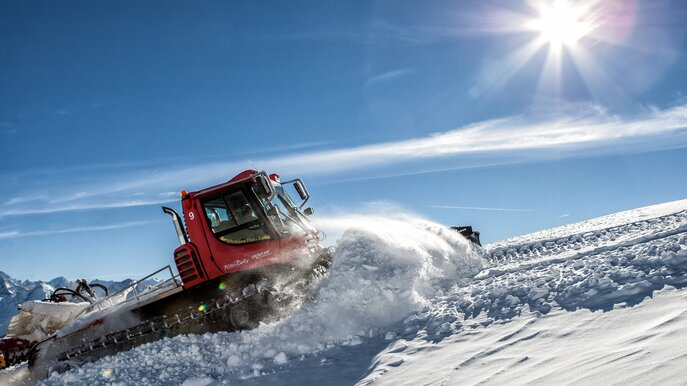 Snowcat Ride - experience preparation vividly | © Serfaus-Fiss-Ladis/Tirol