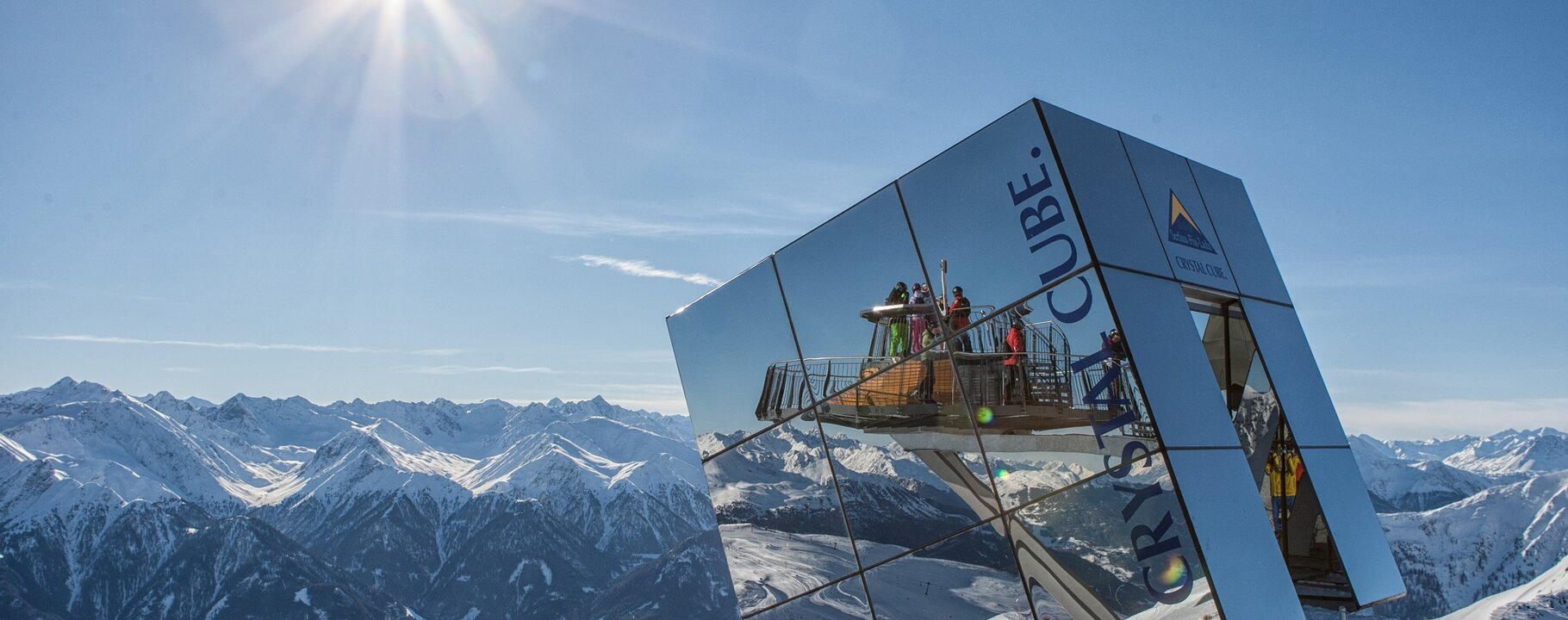 Crystal Cube - Highlight mit Panoramaaussicht | © Serfaus-Fiss-Ladis/Tirol