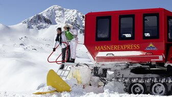 Masner Express - trip to the Masner Ski Hut | © Serfaus-Fiss-Ladis/Tirol
