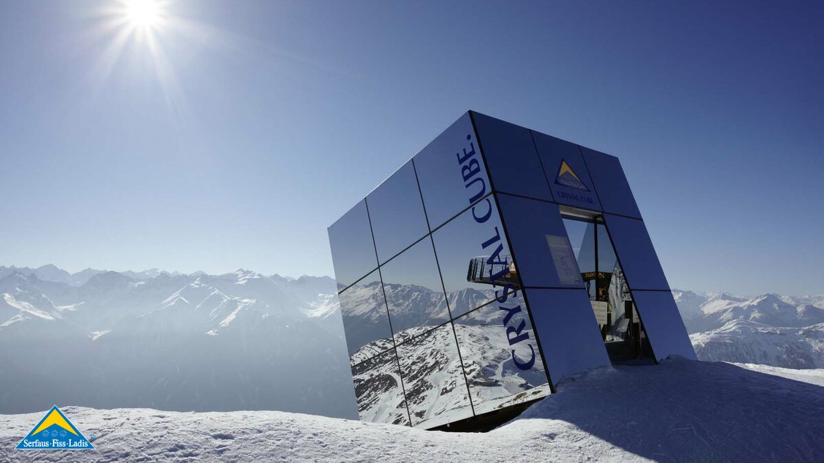 The Crystal Cube in Serfaus-Fiss-Ladis in Tyrol Austria | © Andreas Kirschner