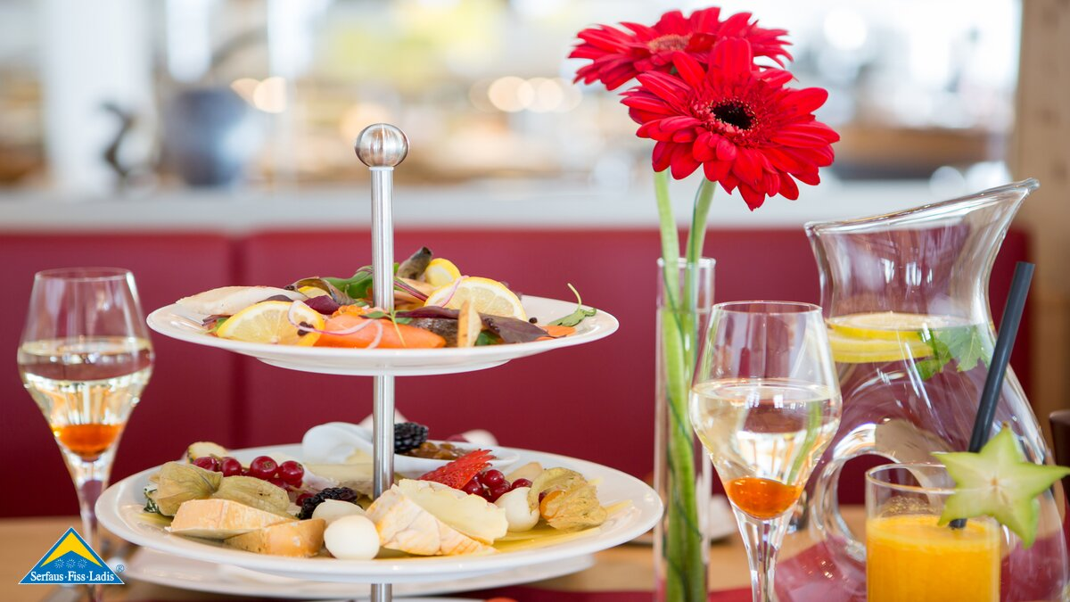 Champagne breakfast for gourmets in Serfaus-Fiss-Ladis in Tyrol Austria | © Andreas Kirschner