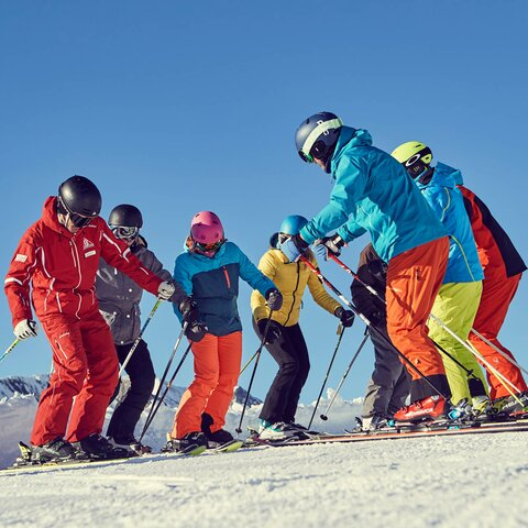 Ski course for adults in Serfaus-Fiss-Ladis in Tyrol | © Skischule Serfaus - christianwaldegger.com