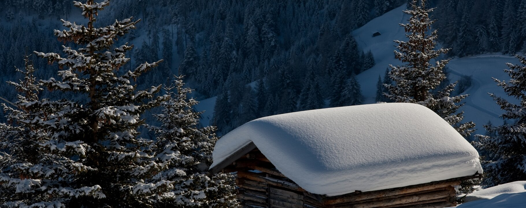 hay barn in the winter landscape | © Serfaus-Fiss-Ladis/Tirol
