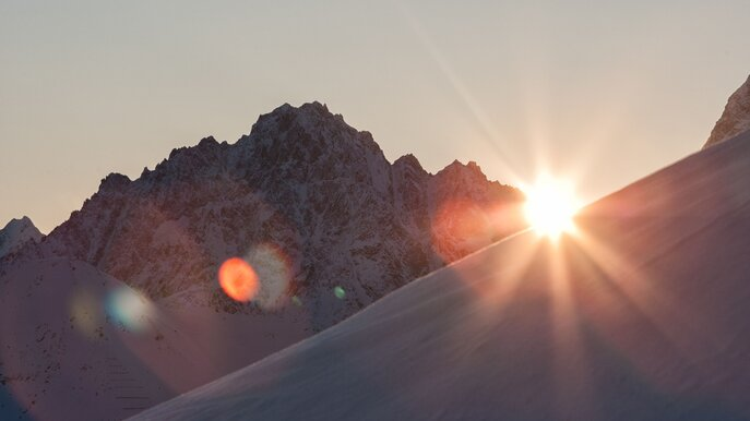 sunrise in the ski area of Serfaus-Fiss-Ladis | © Serfaus-Fiss-Ladis