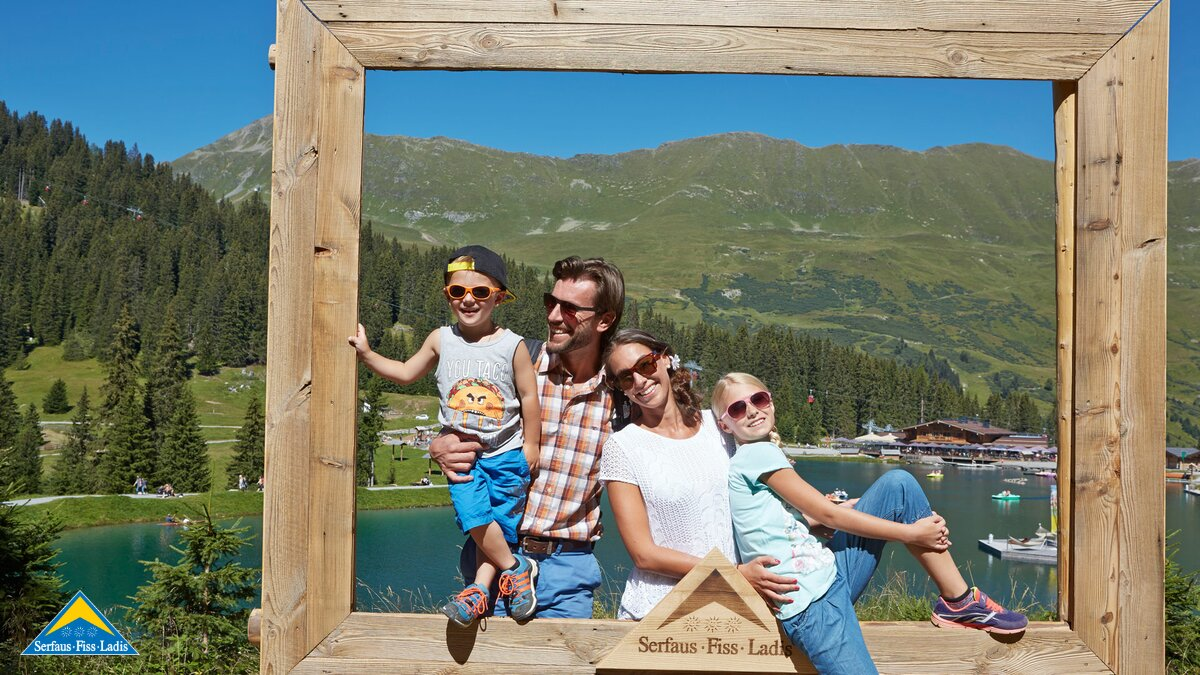 photo point at the Hög Adventure Park | © Serfaus-Fiss-Ladis/Tirol