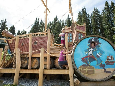 New Pirate's ship in Serfaus Fiss Ladis in Tyrol | © Andreas Kirschner