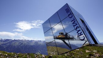 Crystal Cube at 2,600m height | © Serfaus-Fiss-Ladis/Tirol