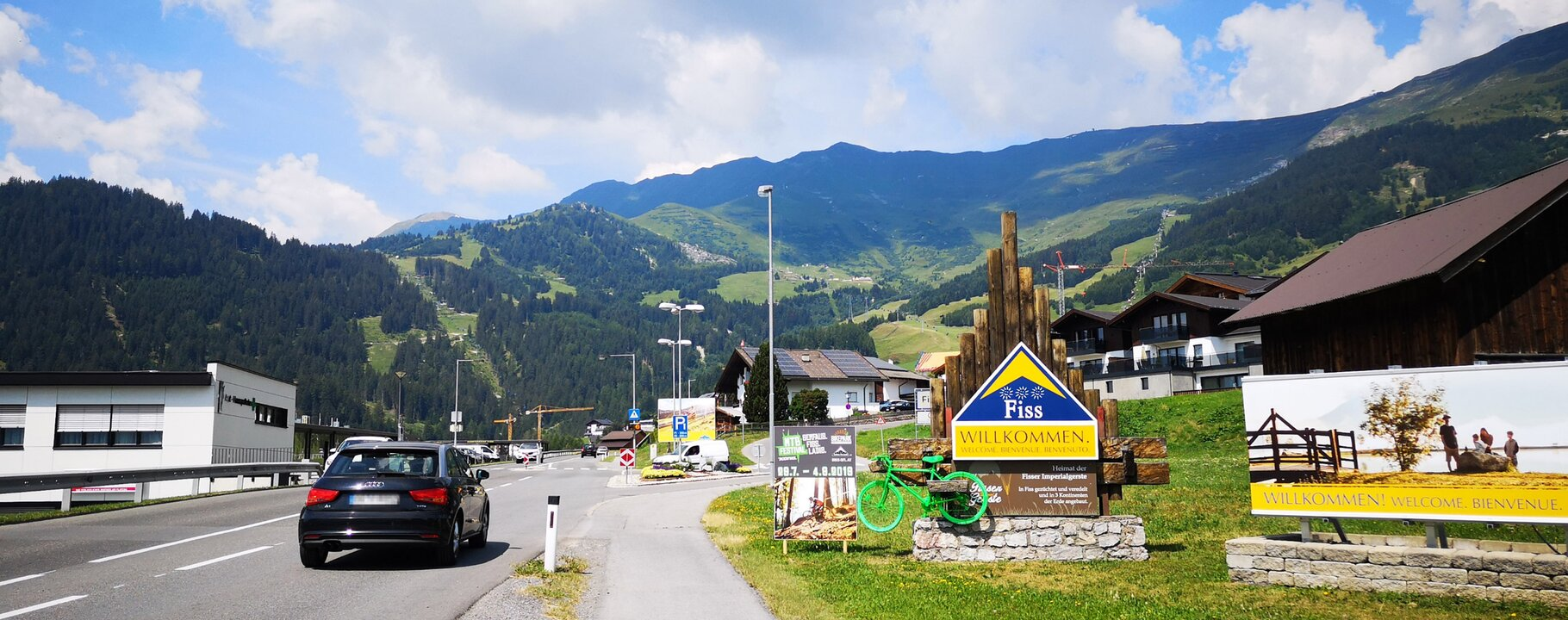 Arrival to Serfaus-Fiss-Ladis in Tyrol Austria | © Serfaus-Fiss-Ladis