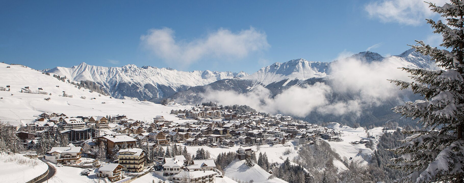 village view of Serfaus in winter | © Andreas Kirschner - www.webart.at