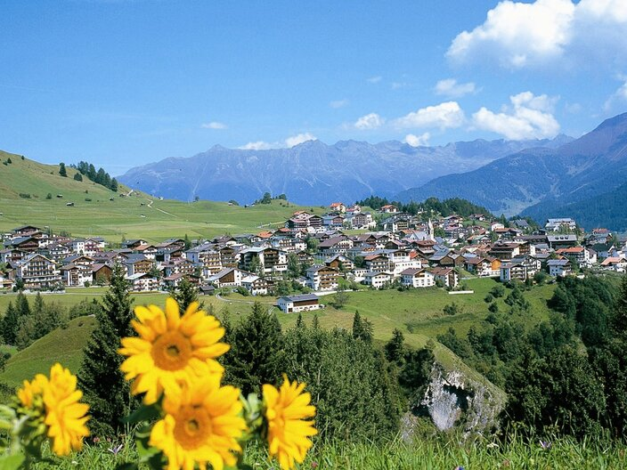 village view of Serfaus in summer | © Foto Mayer, Serfaus