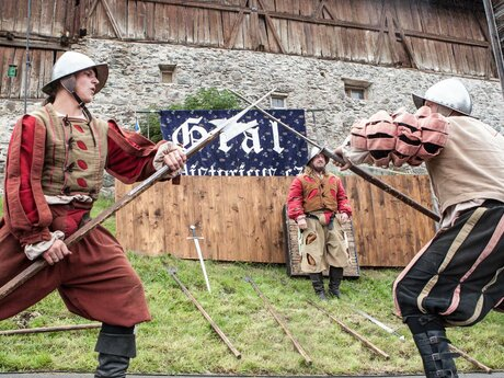 Exhibition fights of the knights in Ladis | © Serfaus-Fiss-Ladis/Tirol