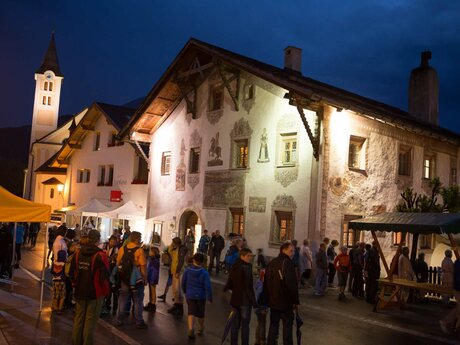 hustle and bustle at the Romantische Sommernacht in Serfaus-Fiss-Ladis | © Andreas Kirschner