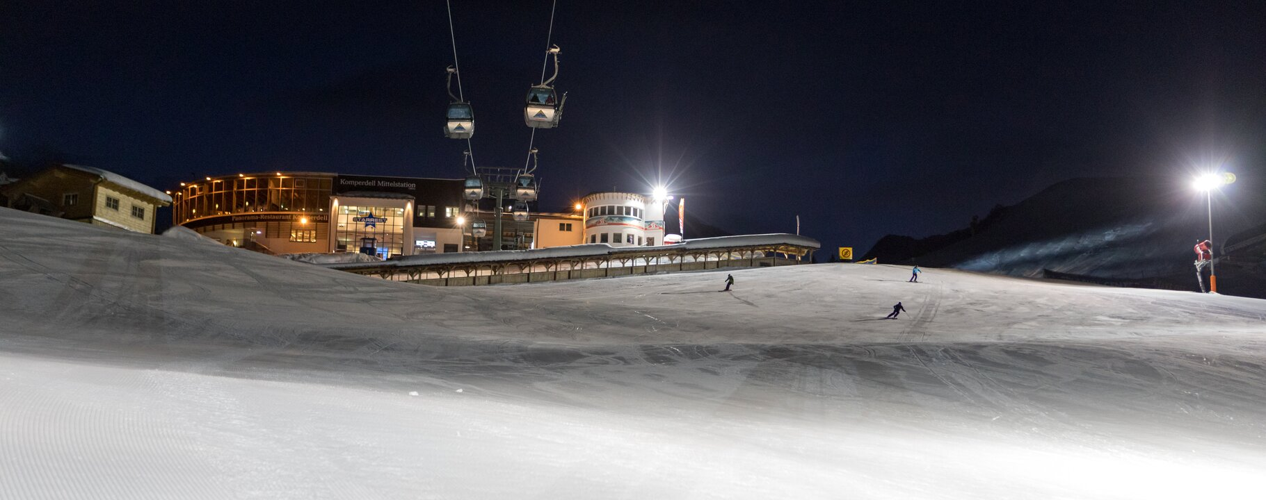 Nighttime skiing in Serfaus-Fiss-Ladis | © Andreas Kirschner