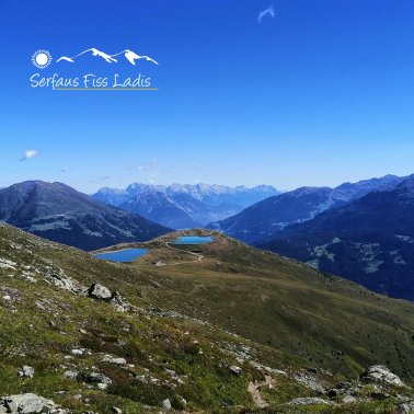 Frommes with lakes/reservoirs in summer with landscape in Serfaus-Fiss-Ladis, Tyrol, Austria | © Serfaus-Fiss-Ladis Marketing GmbH | Andreas Kirschner