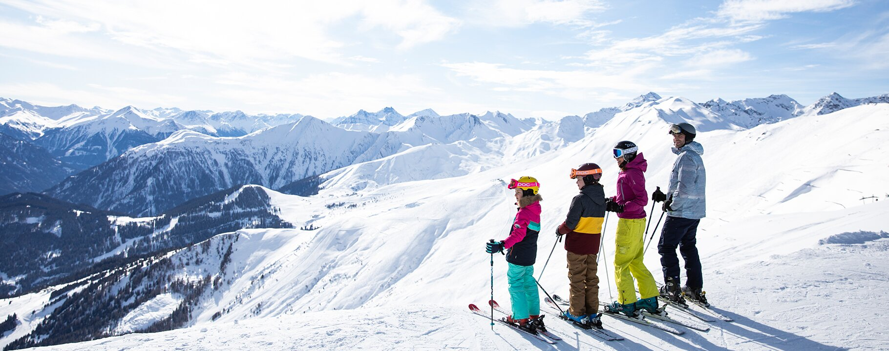 Skiing with the family in Serfaus-Fiss-Ladis in Tyrol Austria | © Serfaus-Fiss-Ladis Marketing GmbH | danielzangerl.com