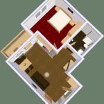 Photo of Apartment, bath, toilet, 1 bed room