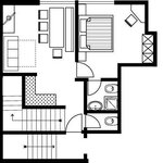 Photo of Apartment, shower or bath, toilet, 1 bed room