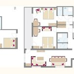 Photo of apartment/3 bedrooms/bath tube, WC