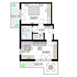 Photo of Apartment, separate toilet and shower/bathtub, 3 bed rooms