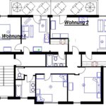 Photo of apartment/2 bedrooms/bath tube, WC