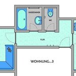 Photo of apartment/1 bedroom/bath tube, WC