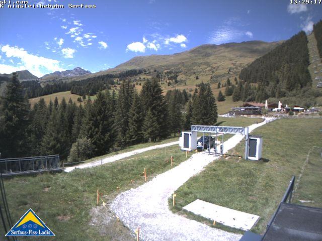 Webcam Serfaus - Königsleithe Talstation - 1.650 m